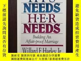 二手書博民逛書店His罕見Needs, Her NeedsY12800 Willard F. Harley Jr Tarryt