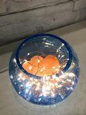 鹽燈 創意現代簡約台燈 臥室床頭玻璃小夜燈喜馬拉雅鹽燈 裝飾生日禮品