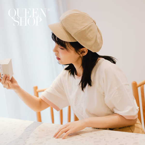 Queen Shop【07020521】休閒報童帽 三色售*現+預*