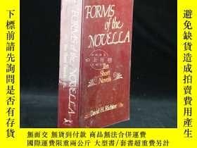 二手書博民逛書店Forms罕見of the NovellaY22224 Davi