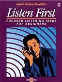 二手書博民逛書店《Listen First:  Focused Listening Tasks for Beginners》 R2Y ISBN:0194344223