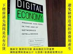 二手書博民逛書店The罕見Digital Economy : Promise and Peril in the Age of Ne