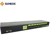 8埠 DVI KVM切換器(SK1708D) SUNBOX台製