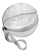 SPALDING 單顆裝 籃球袋 7號球可裝  瓢蟲袋 收納袋 斯伯丁- 銀色  [陽光樂活]