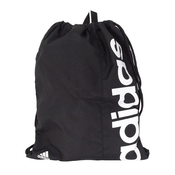 Adidas Linear Performance Gym Sack [AJ9970] 健身袋 束口袋 抽繩 輕量 黑
