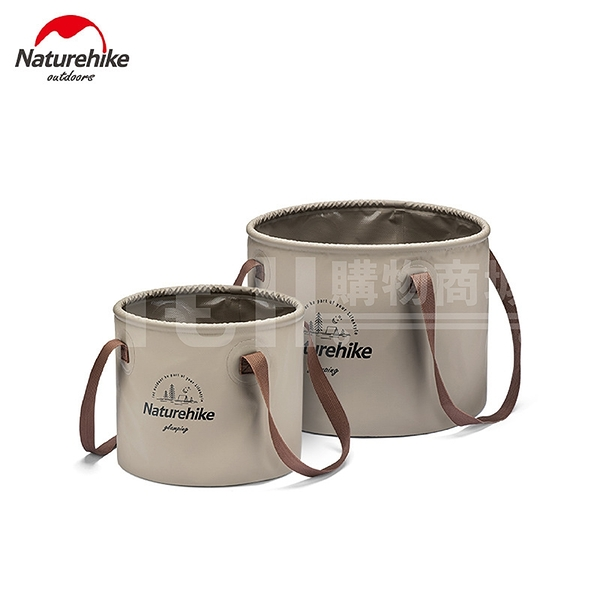 Naturehike【10L/0.23KG】可折疊圓形水桶 戶外旅行露營便攜式水盆 儲水桶