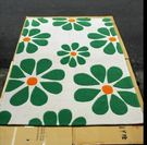 ☆歡樂寶貝商城☆清新夏季海島風格140*200花朵手工晴綸客廳地毯