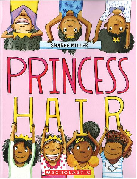 【麥克書店】PRINCESS HAIR/ 英文繪本《主題:自我認同》