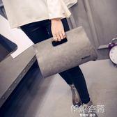 韓版潮時尚斜背包女包手拿包復古簡約手提包單肩包女 韓語空間