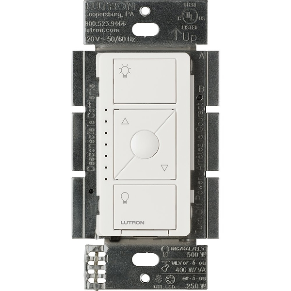 [8美國直購] 調光開關 Lutron Caseta Wireless Smart Lighting ELV Dimmer Switch for Electronic PD-5NE-WH,