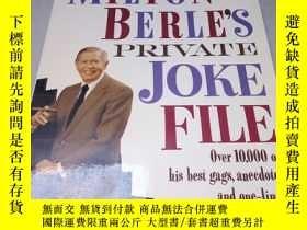 二手書博民逛書店英文原版罕見Milton Berle s Private Jok