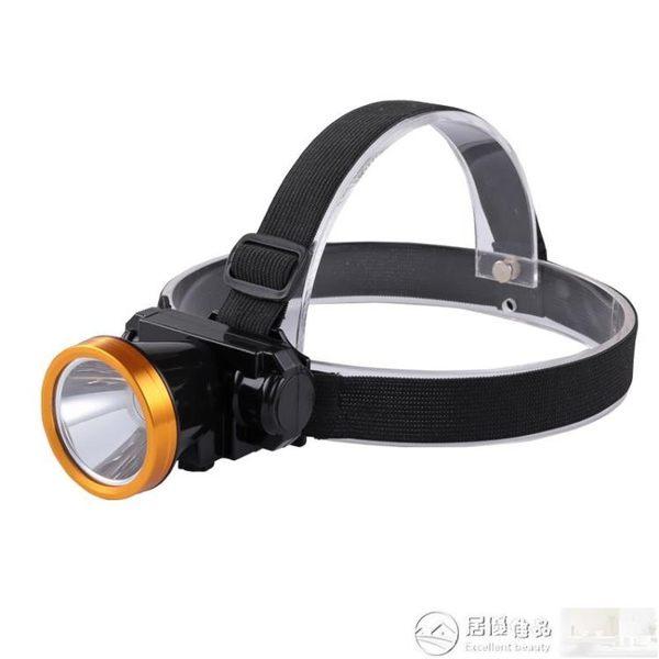 頭燈 強光可充電式超亮頭戴式手電筒迷你led小頭燈夜釣魚戶外電燈家用 居優佳品