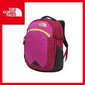 【The North Face 25L 13吋電腦背包 《紫紅/亮桃粉》】CA7K/休閒/出國/旅遊