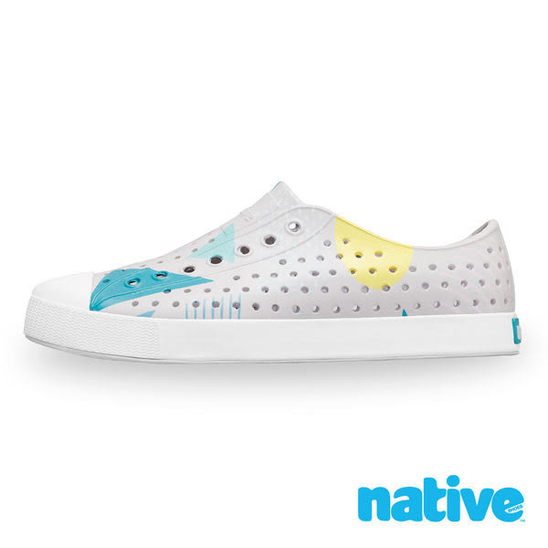 native JEFFERSON 男/女鞋-苔原灰x幾何