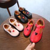 春季兒童小皮鞋女童平底公主鞋