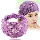 頭巾帽 珍珠寬邊鬆緊發帶女網紅發箍遮白發頭飾民族風復古頭巾包頭帽子女寶貝計畫 上新
