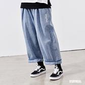 STAYREAL PURE LIFE 寬口牛仔褲