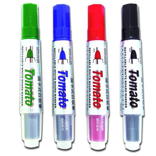 【奇奇文具】Tomato TR-630 插卡式白板筆/可替換 ( 12支/盒) 四色可選