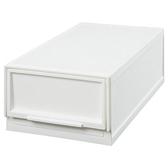 寬19cm 多功能抽屜收納盒 白色S 半格型 NITORI宜得利家居