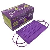 恒大優衛 醫用 口罩(薰衣草紫) 50入/盒【i -優】醫療 口罩 醫藥口罩
