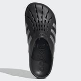 ADIDAS ADILETTE CLOG 男鞋 女鞋 拖鞋 防水 包頭 護趾 黑 銀【運動世界】FY8969