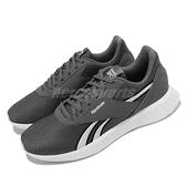 【海外限定】Reebok 慢跑鞋 Lite 2.0 灰 白 輕量 透氣 男鞋 運動鞋 大Logo【ACS】 FU8553