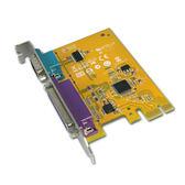 SUNIX MIO6469A 1S+1P 轉PCI-e卡