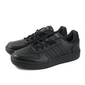 adidas HOOPS 2.0 運動鞋 跑鞋 黑色 男鞋 EE7422 no758