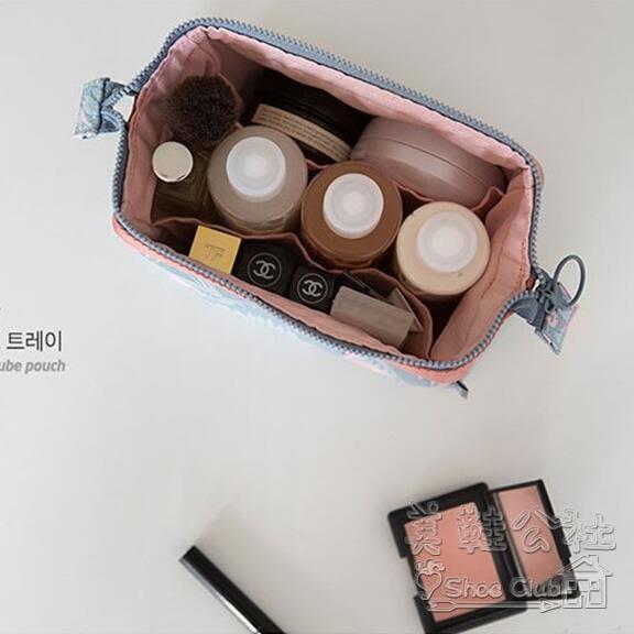 韓版旅行小清新立體大容量化妝品洗漱收納包  hh311『美鞋公社』