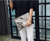 韓國女包2018夏季新款手拿包簡約女款休閒信封包