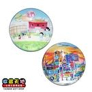 【收藏天地】台灣紀念品*水晶玻璃球冰箱貼-北門西門町造型2款 ∕ 小物 磁鐵 送禮 文創