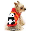 【PET PARADISE 寵物精品】NARIKIRI 熊貓PANDA厚刷毛上衣 (4S) 狗衣服 寵物衣服 秋冬新品