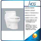 HCG 和成 單體馬桶  C660AdbT
