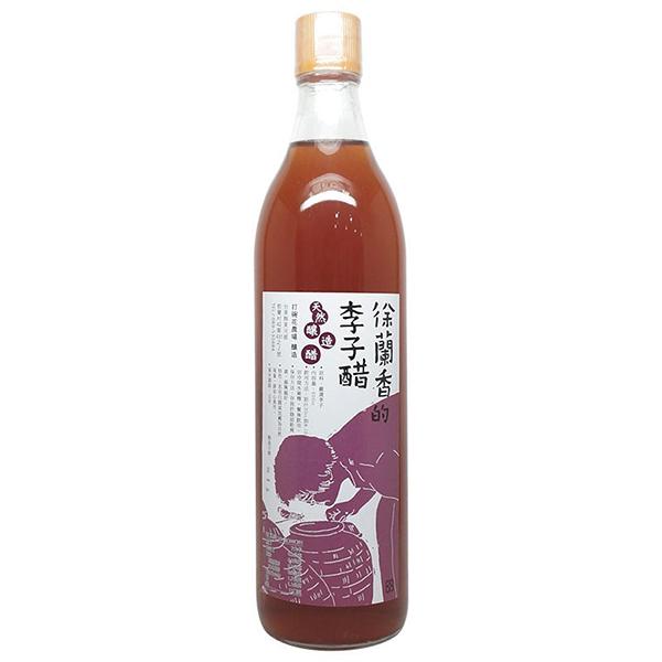 徐蘭香天然釀造醋---李子醋600cc/罐