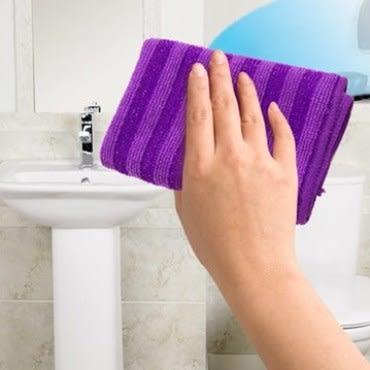 JoyLife 超值6入台灣製特殊雙料強效頑垢清潔刷巾