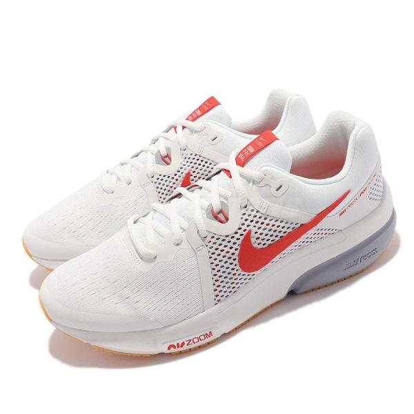 Nike 慢跑鞋 Zoom Prevail 白 橘紅 氣墊 REACT 男鞋 路跑 【ACS】 DA1102-100