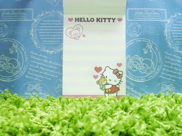【震撼精品百貨】Hello Kitty 凱蒂貓~造型便條紙-熊【共1款】