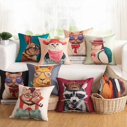 沙發靠枕抱枕含芯套子辦公室椅子靠背汽車腰靠床頭裝飾大方枕頸枕