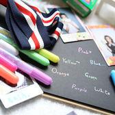 繽紛彩虹水粉筆 7支一組 糖果色 塗鴉筆 DIY 拍立得底片 相本 相簿 手作 MINI 7S 25 50S 8 90 MINI90 PD233