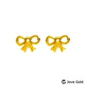 Jove gold 漾金飾 小甜心黃金耳環