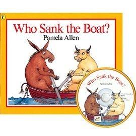 【麥克書店】WHY SANK THE BOAT?  /英文繪本附CD