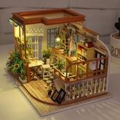 音樂盒 音樂盒八音盒diy手工木質拼圖天空之城小女孩創意生日禮物送女生【免運直出】