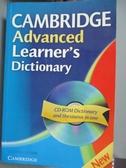 【書寶二手書T8/字典_XFC】Cambridge Advanced Learner's Dictionary_原價750_Not Available (NA)