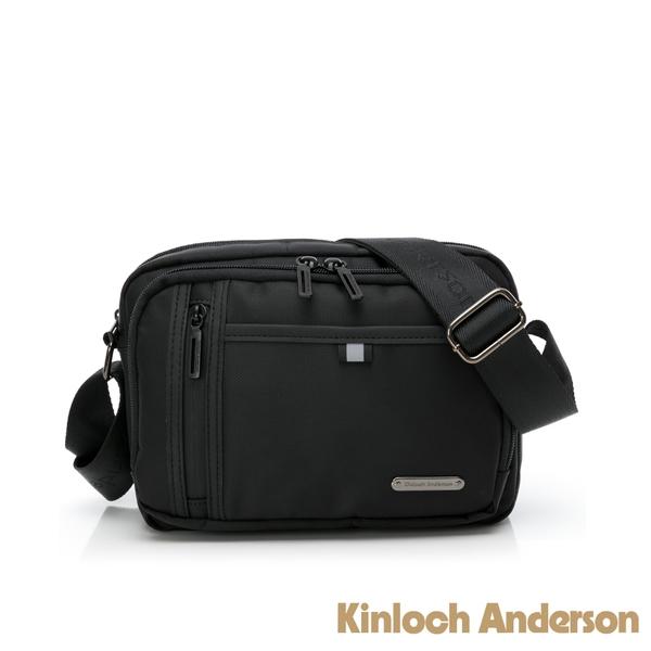 金安德森 無限地帶 極簡造型多隔層肩背包 黑色