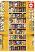 【拼圖總動員 PUZZLE STORY】汽水罐總動員 西班牙/Educa/2000P/直幅