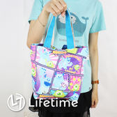 〖LifeTime〗﹝迪士尼帆布便當袋﹞正版手提帆布便當袋 水壺收納袋 購物袋 米奇 大眼怪 B19035