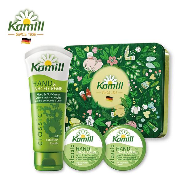 德國Kamill卡蜜兒180週年經典護手禮盒(經典100ml+經典20ml*2)