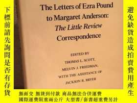 二手書博民逛書店Pound The罕見Little Review(埃茲拉·龐德《 小評論 通信:致瑪格麗特安德森》,龐