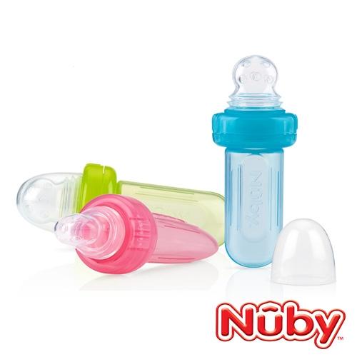 Nuby 矽膠蔬果棒 (款式任選)