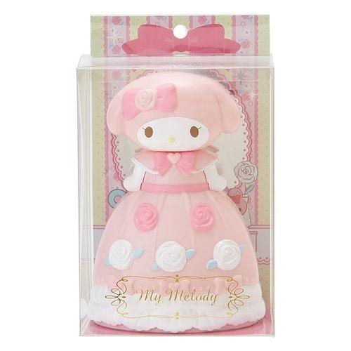 【震撼精品百貨】My Melody 美樂蒂~Sanrio 美樂蒂公主風立體造型人偶髮梳(玫瑰)#98610